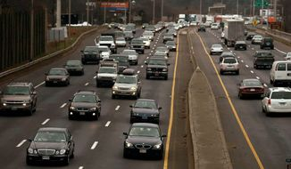 Police have been on the lookout for those bearing arms along the busy Interstate 95 corridor between Florida and Maine. Especially zealous police officers have stopped several motorists in Maryland. (Associated Press)