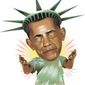 Illustration on Obama's new embrace of Cuba by Linas Garsys/The Washington Times