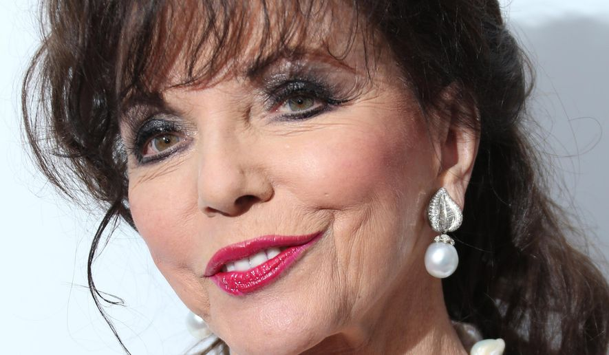 Dynasty Dame Joan Collins Honored By Queen Washington Times