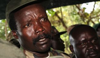 The U.N. is seeking to bring to justice Joseph Kony in the rapes and deaths of thousands, many of them civilians.