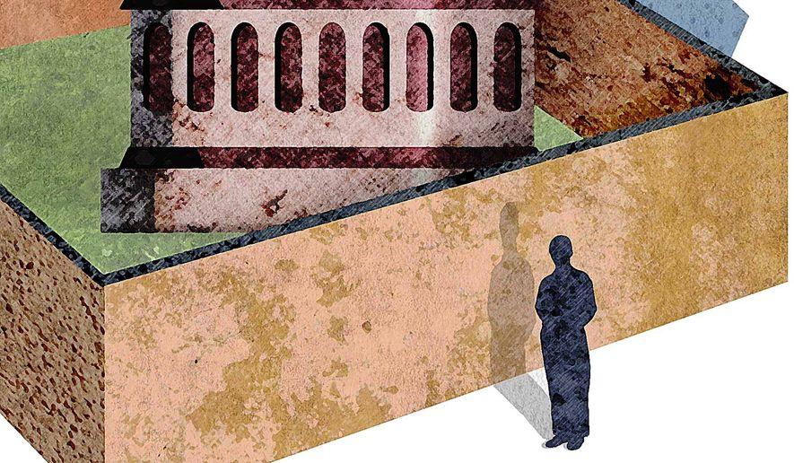 Washington Outsider Illustration by Greg Groesch/The Washington Times
