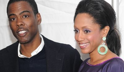 FILE - In this Nov. 30, 2009 file photo, actor and comedian Chris Rock and wife Malaak Compton attend IFC's 19th Annual Gotham Independent Film Awards at Cipriani's Wall Street in New York. Rock filed for divorce from his wife Compton-Rock, a statement from his representative confirmed Sunday, Dec. 28, 2014. The statement went on to specify that Rock and his family request privacy as they go through this process because it is a personal matter. (AP Photo/Evan Agostini, File)