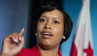 Mayor-elect Muriel Bowser will take her oath of office as the seventh elected mayor of the District shortly before noon, along with D.C. Council members and the city's first elected attorney general. (Associated Press)