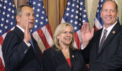 Ted S. Yoho of Florida is challenging Speaker Boehner's position in the 2015 Congress. (Associated Press)