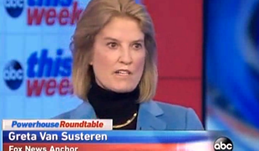 Fox News host Greta van Susteren argued Sunday morning that incoming GOP Majority Whip Steve Scalise should have gracefully stepped aside after it was reported he gave a speech in 2002 to a group founded by the former grand wizard of the Ku Klux Klan, David Duke. (ABC News via Breitbart)