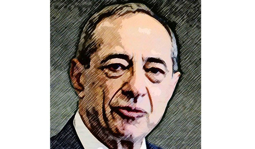 Mario Cuomo Illustration by Greg Groesch/The Washington Times