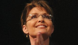 Former Alaska Gov. Sarah Palin is one of many Republicans slated to attend the inaugural Iowa Freedom Summit later this month in Des Moines. (Associated Press)