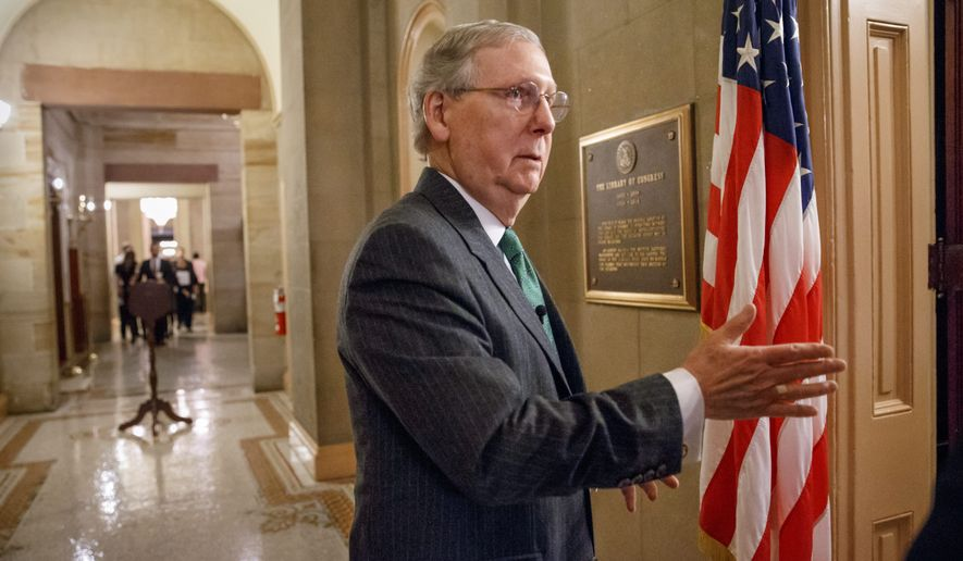 High expectations: Mitch McConnell has many challenges ahead. He will have to find a way to work with the White House, Senate Democrats and the conservative wing of his own party. (Associated Press)