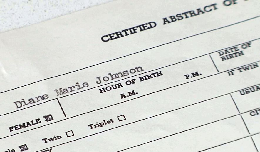 A bill filed in New York Assembly would permit adult adoptees to obtain original birth records from the state Department of Health. (AP Photo/Alex Sanz)