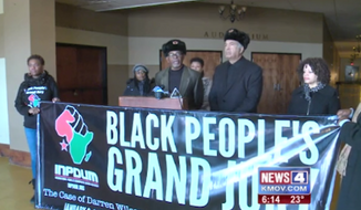 """The """"Black People's Grand Jury"""" in St. Louis has found that former Ferguson police officer Darren Wilson should have been charged for the fatal shooting of 18-year-old Michael Brown."""