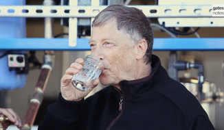 Bill Gates says a new testing facility that turns human waste into clean drinking water has the potential to save lives. (Gates Notes)
