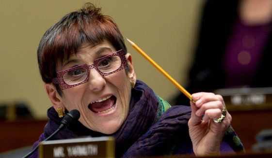 Rep. Rosa DeLauro, Connecticut Democrat. (Associated Press) ** FILE **