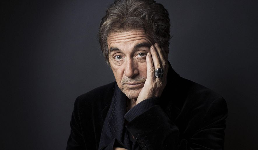 "This Dec. 7, 2012 photo shows Al Pacino in New York. Pacino stars in the new film, ""Stand Up Guys."" The Goldin Auctions company is offering a treasure chest of celebrity items online this winter, including a Tony Award and a Golden Globe won by Pacino. The minimum bid on the Tony is $10,000 and the Golden Globe is $25,000. The auction will open for preview on Friday and bids will be accepted starting Jan. 12 through Feb. 7.  (Photo by Victoria Will/Invision/AP, File)"