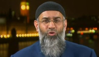 British radical cleric Anjem Choudary. (Image: Fox News screen shot) ** FILE **
