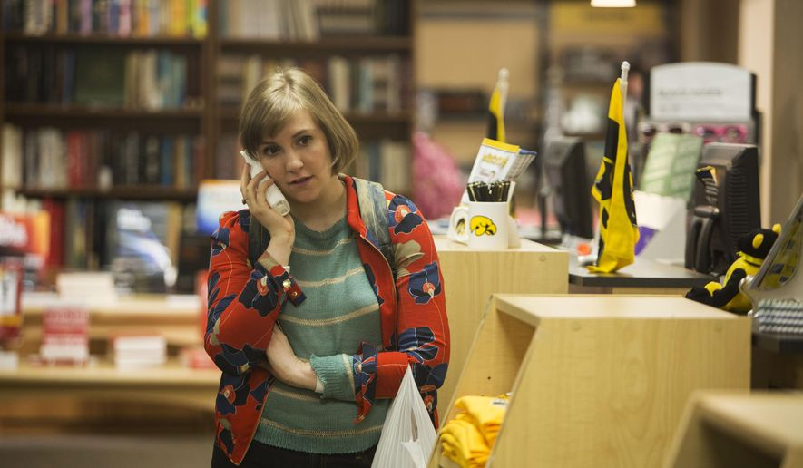 "This photo released by HBO shows, Lena Dunham, in a scene from season 4 of ""Girls."" (AP Photo/HBO, Craig Blankenhorn )"