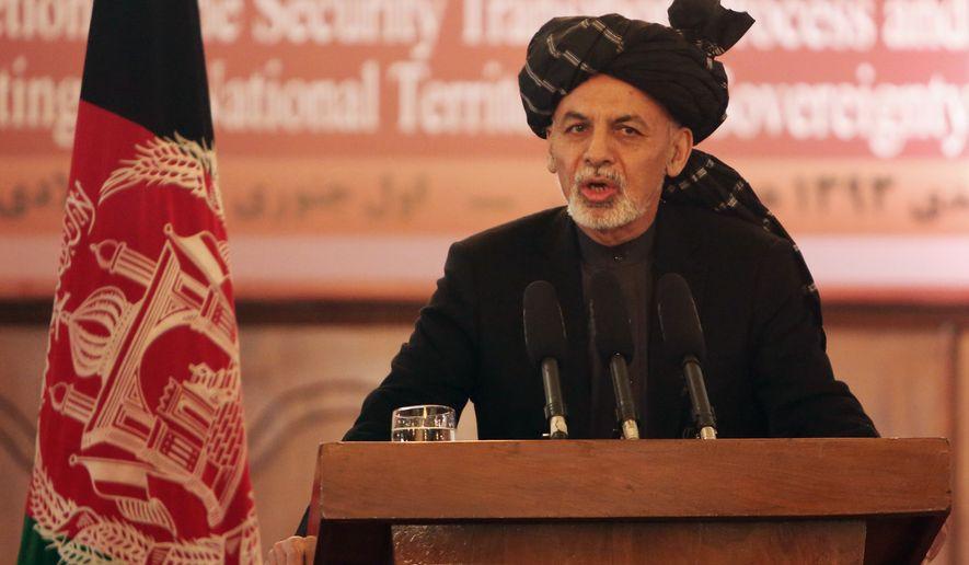 Afghan President Ashraf Ghani is expected to make a visit to Washington sometime this spring.  (AP Photo/Rahmat Gul)