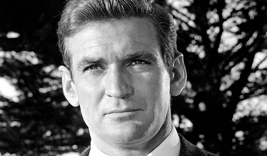 "Rod Taylor starred in Alfred Hitchcock's ""The Birds"" in 1963.  (People/Everett Collection)"
