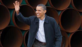 President Obama (Associated Press) ** FILE **