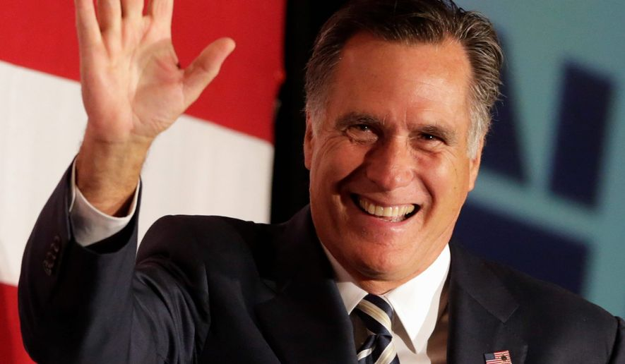 Former Republican presidential contender Mitt Romney met with donors Friday, which was seen as a signal that he's ready to compete for the big donors and the key fundraisers who power the establishment wing of the GOP. (Associated Press)