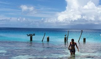 Tikehau's atoll in the outer islands of Tahiti makes a perfect setting for swimming, floating, dreaming.