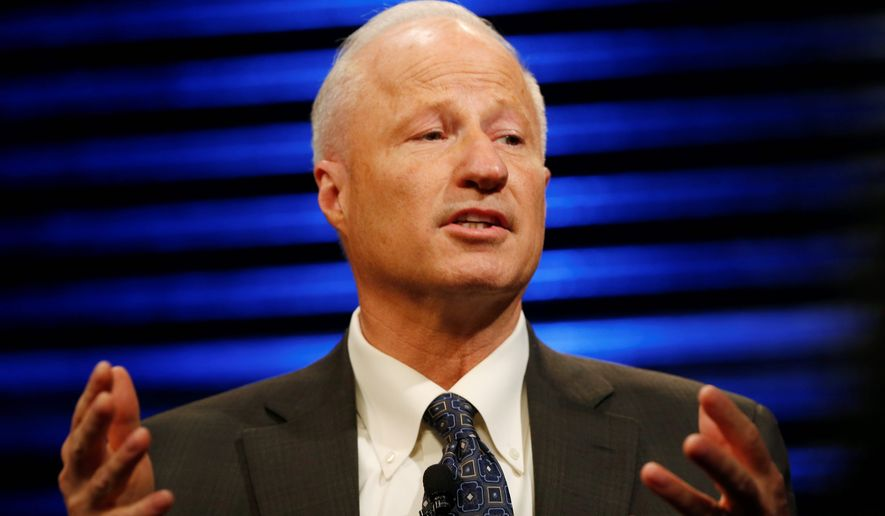 "Rep. Mike Coffman, Colorado Republican, said VA bonuses should be given for exceptional work, ""not just pushing paperwork."" (Associated Press)"