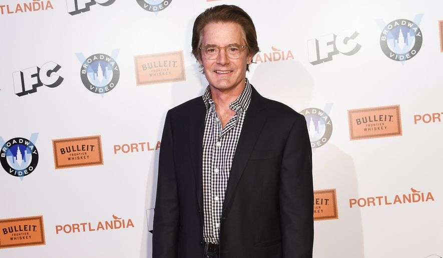 "FILE - In this Jan. 5, 2015 file photo, Kyle MacLachlan arrives at Portlandia Season 5 Premiere Presented by Bulleit Bourbon at The Theatre at Ace Hotel in Los Angeles. When ""Twin Peaks"" returns to TV, FBI agent Dale Cooper will be along for the ride. MacLachlan is reprising the role in Showtime's sequel to the 1990-91 ABC drama, the cable channel said Monday, Jan. 12, 2015. (Photo by Rob Latour/Invision/AP, File)"