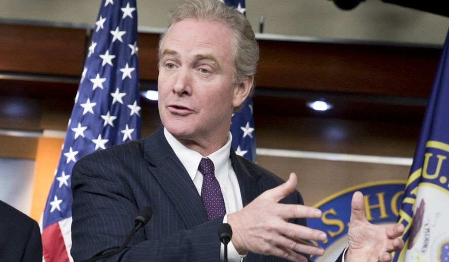 """This is a plan to grow the paychecks of all, not just the wealth of a few. This proposal attacks the chronic problem of stagnant middle-class incomes from both directions it promotes bigger paychecks and lets workers keep more of what they earn,"" Rep. Chris Van Hollen, the ranking member on the House Budget Committee, said in a speech announcing House Democrats' ""action plan' at the Center for American Progress, a liberal think tank in Washington. (Associated Press)"