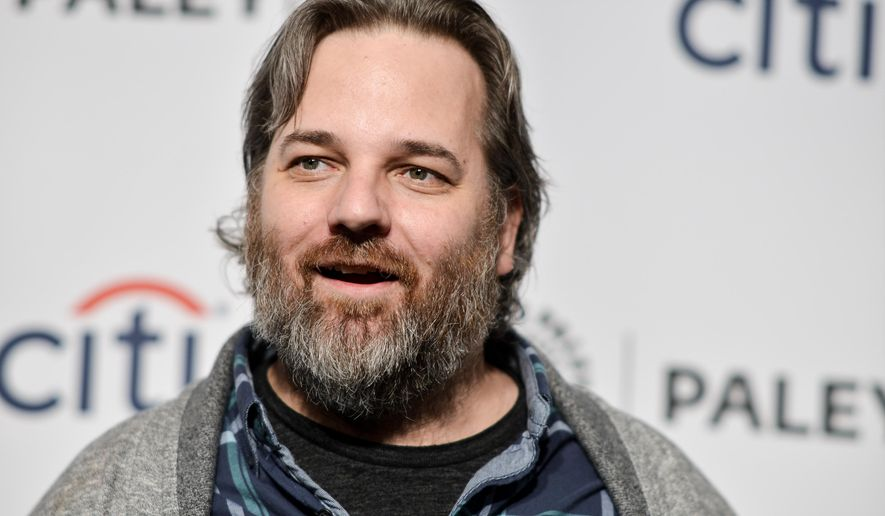 "FILE - In March 26, 2014 file photo, Dan Harmon arrives at PALEYFEST 2014 - ""Community"" in Los Angeles. The axed NBC sitcom ""Community"" will make its Yahoo debut in March. Yahoo announced Tuesday, Jan. 13, 2015, that sitcom will begin its online life with a pair of episodes.  (Photo by Richard Shotwell/Invision/AP, File)"