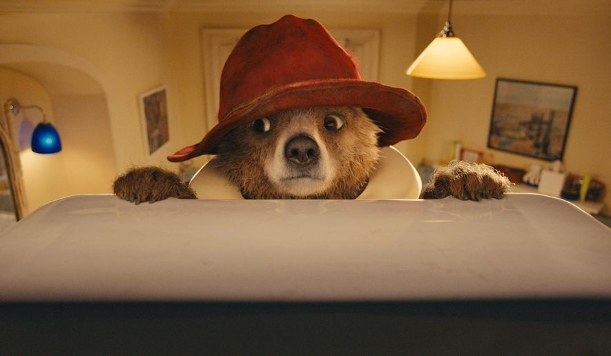 "This image released by The Weinstein Company shows a scene from ""Paddington."" (AP Photo/The Weinstein Company)"