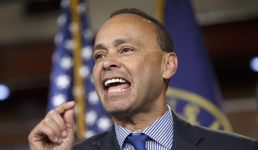 Rep. Luis Gutierrez, Illinois Democrat, speaks on Capitol Hill in Washington on Jan. 13, 2015. (Associated Press) **FILE**