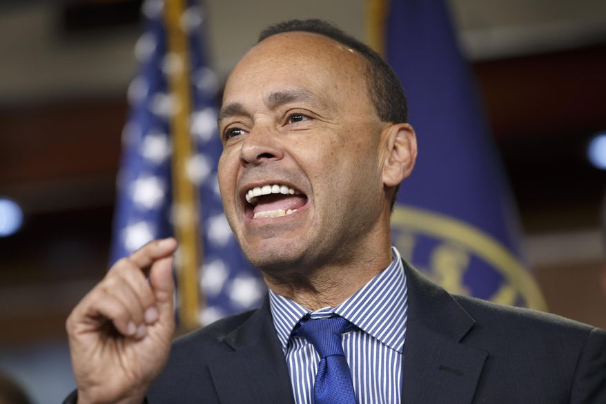 Rep. Luis Gutierrez, Illinois Democrat, speaks on Capitol Hill in Washington on Jan. 13, 2015. (Associated Press) **FILE**