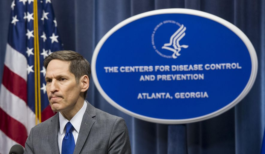 Centers for Disease Control and Prevention Director Dr. Tom Frieden took questions from reporters on Oct. 12, 2014. (AP Photo/John Amis/File)