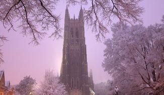 Duke Chapel on the campus of Duke University in Durham, NC. Wikipedia photo
