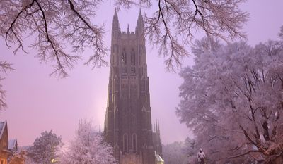 Duke Chapel on the campus of Duke University in Durham, NC. Wikipedia photo