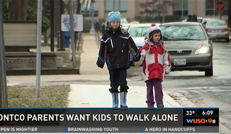 Danielle and Alexander Meitiv, of Silver Spring, Maryland, are under investigation for allowing their 6- and 10-year-old children to walk around the neighborhood together without an adult. (WUSA 9) ** FILE **