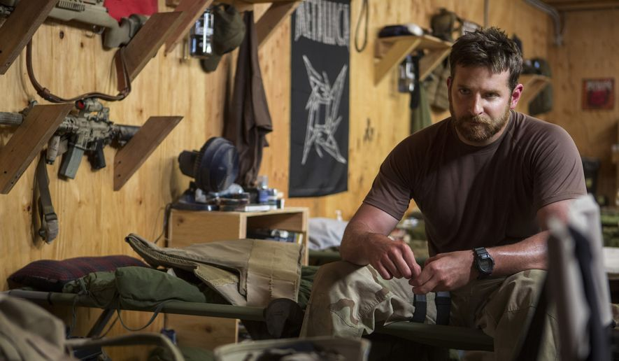 "In this image released by Warner Bros. Pictures, Bradley Cooper appears in a scene from ""American Sniper."" (AP Photo/Warner Bros. Pictures, Keith Bernstein)"