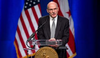 D.C. Council Chairman Phil Mendelson (Associated Press) **FILE**
