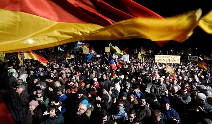 Fear and Rage: The Patriotic Europeans against the Islamization of the West has been staging demonstrations against immigration from countries with large Muslim populations. Its numbers are growing, and its protests are spreading. (Associated Press)
