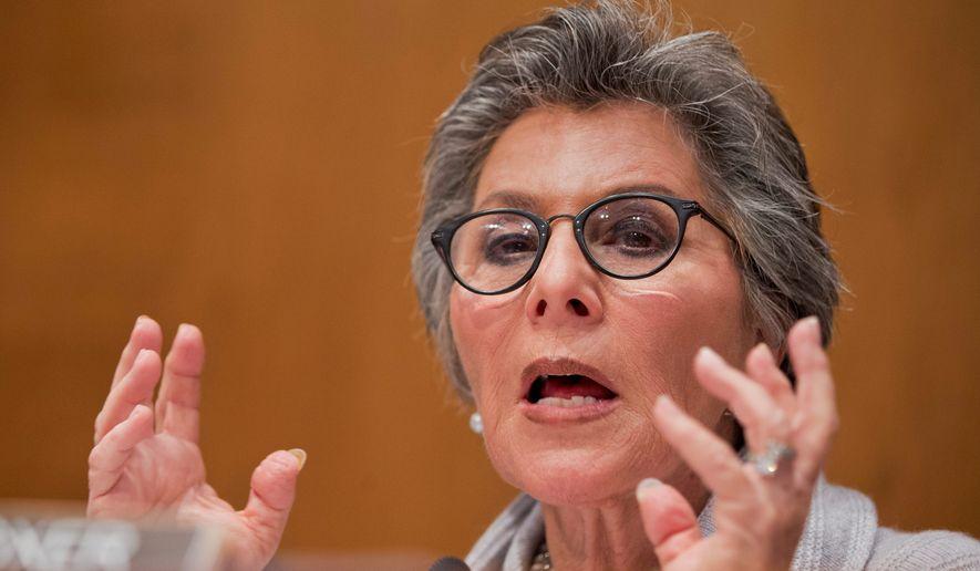 Sen. Barbara Boxer. (Associated Press)
