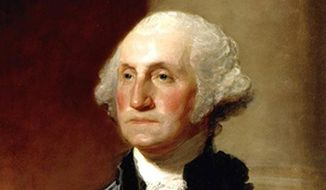 President Washington (Painting by Gilbert Stuart)