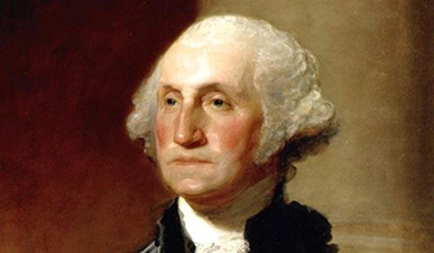 President Washington (Painting by Gilbert Stuart)