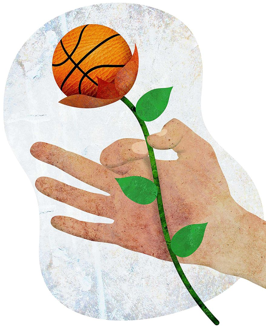 Community Outreach through Athletics Illustration by Greg Groesch/The Washington Times