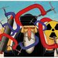 Illustration on the need for sanctions against Iran by Alexander Hunter/The Washington Times