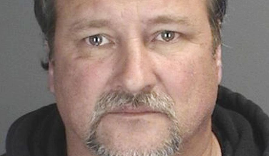 This undated photo provided by the Middletown Police Department shows James Rhein, of Middletown, N.Y. Police say Rhein used an excavator to demolished his upstate home without telling his wife he planned to tear it down. (AP Photo/Middletown Police Department)