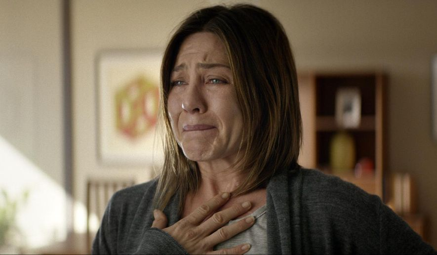 """This image released by Cinelou Films shows Jennifer Aniston in a scene from """"Cake.""""  (AP Photo/Cinelou Films )"""