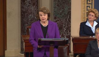 Sen. Dianne Feinstein said that her staff's computers were hacked by CIA officers in a partisan attack. However, the Bayh report has discovered otherwise. (Associated Press)