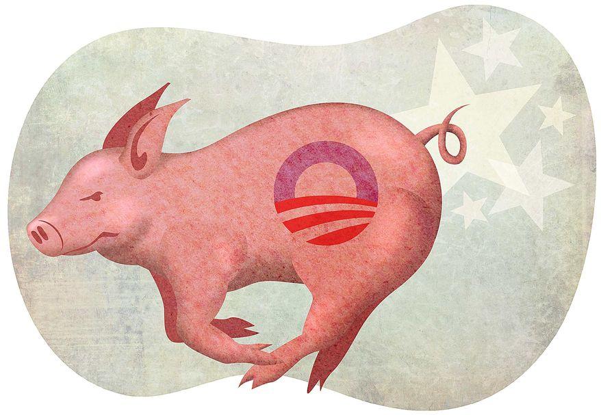 Joni Ernst at Work in Washington Illustration by Greg Groesch/The Washington Times
