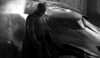 Ben Affleck as the Dark Knight in Batman v Superman: Dawn of Justice