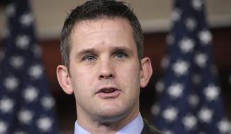 Rep. Adam Kinzinger, Illinois Republican (Associated Press) **FILE**