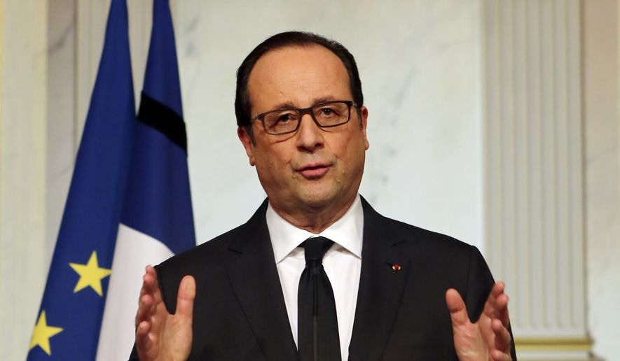 The socialist government of President Francois Hollande last week announced steps to increase counterterrorism surveillance and to intervene in the classroom to blunt the message of radical Islam in France. (Associated Press)